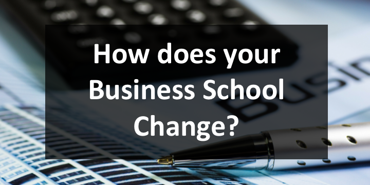 Business School Change
